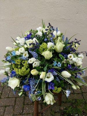 Voorjaar blauw/wit