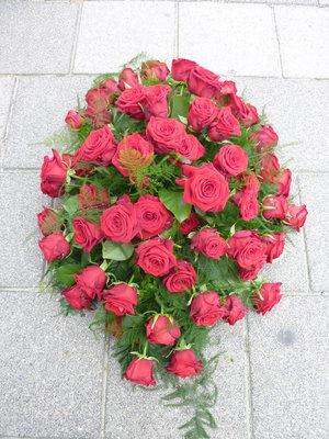 Liefde, rode rozen