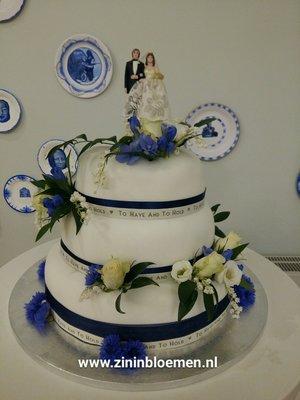 Bruidstaart versiering